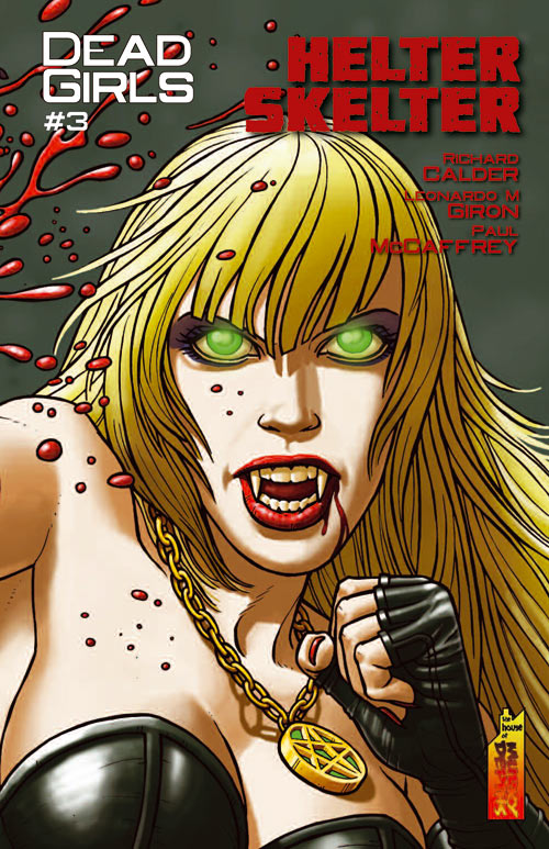 Dead Girls #3 cover